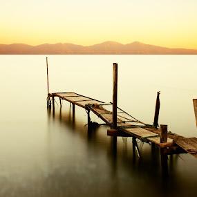 ... by Ömür Kahveci - Landscapes Waterscapes ( fineart, waterscape, sunset, seascape, longexposure )