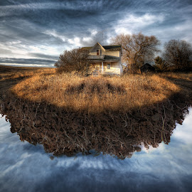 Unearthed from the past by Eric Demattos - Buildings & Architecture Decaying & Abandoned ( eric demattos, floating, house, surreal, forgotten, abandoned )