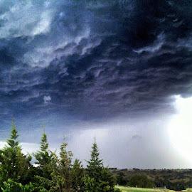 Storm Front by Melissa Jane - Landscapes Weather