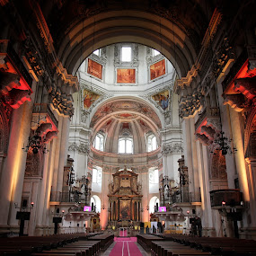 Salzburg, Cathedral   by Ali Brown - Buildings & Architecture Places of Worship ( salzburg )