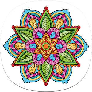 Coloring Pages for Adults Icon