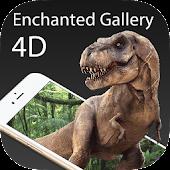 Enchanted Gallery-Dinosaurs 4D APK for Bluestacks