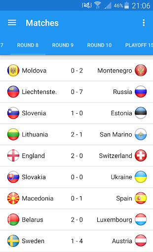 Euro 2016 - screenshot