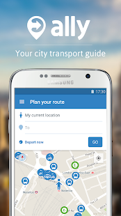 ally: City transport app