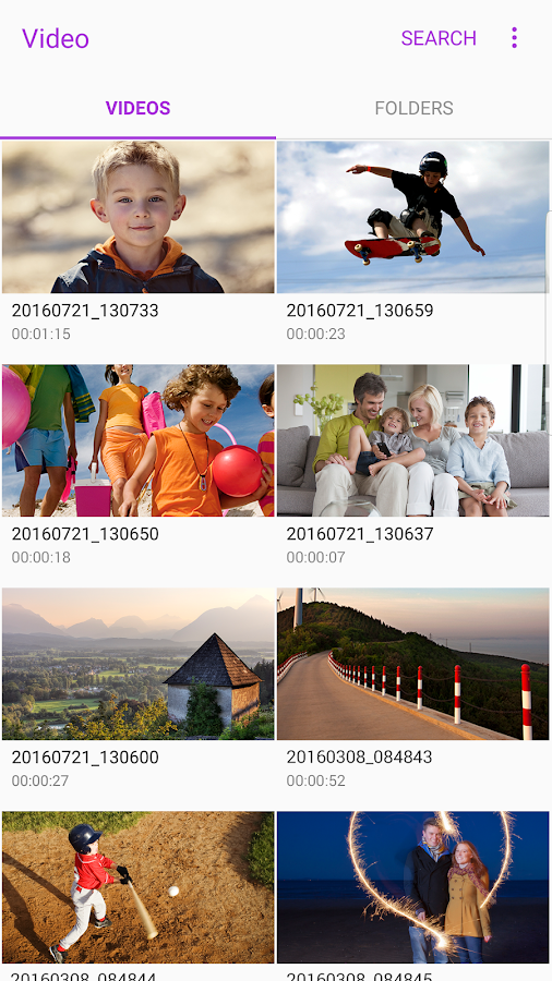Samsung Video Library Screenshot 4