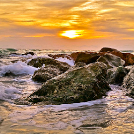 { Waves along the coast of Western Florida ~ 26 July }  by Jeffrey Lee - Landscapes Waterscapes ( { waves along the coast of western florida ~ 26 july } )