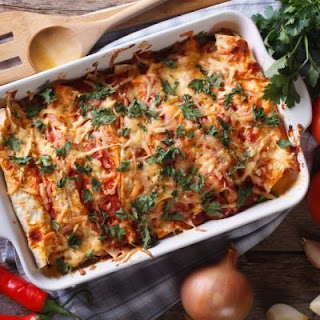 Mexican Inspired Vegetable Enchilada Casserole