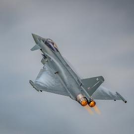 Typhoon by Anthony P Morris - Transportation Airplanes ( anthony morris, typhoon, airoplane, jet )