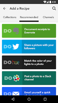 DO Camera By IFTTT APK screenshot thumbnail 5