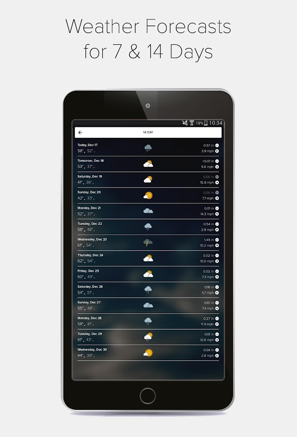 Weather & Radar - Morecast App Screenshot 19