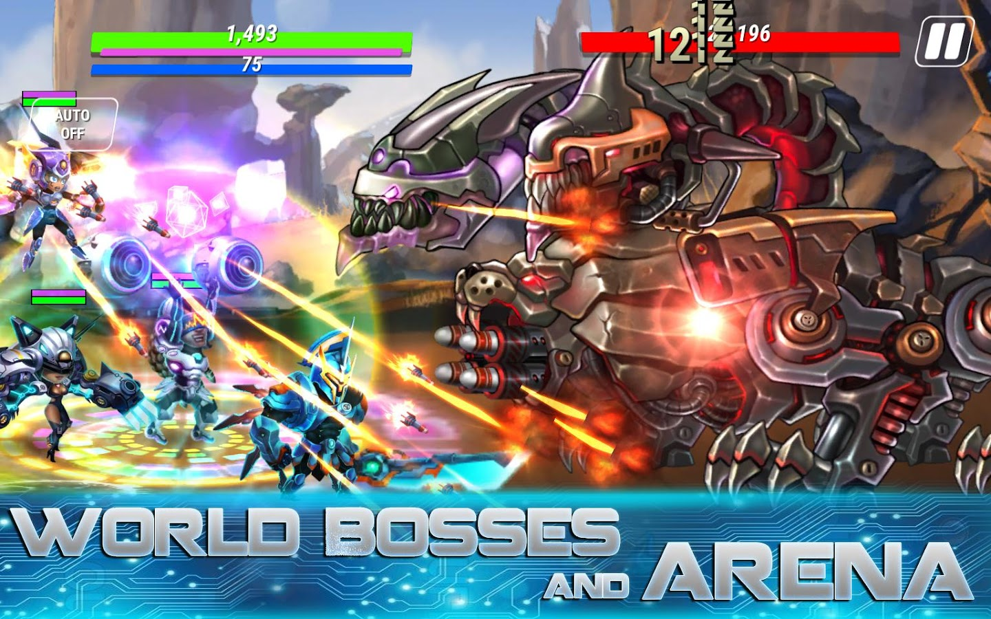 Heroes Infinity: Gods Future Fight Screenshot 13