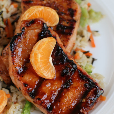 Sweet Chili-Orange Grilled Pork Chops