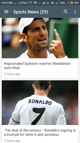 World News Screenshot
