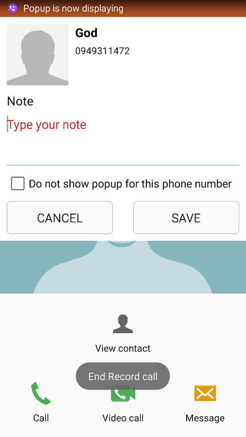PRO Robot Note Call Recorder Screenshot 3