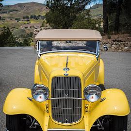 Yes I'd Like A V8 by Jebark Fineartphotography - Transportation Automobiles ( deuce, v8, ragtop, roadster, hot rod, 1932, convertible, custom )
