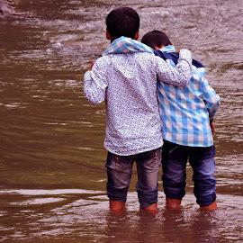 friends by SANGEETA MENA  - Babies & Children Children Candids