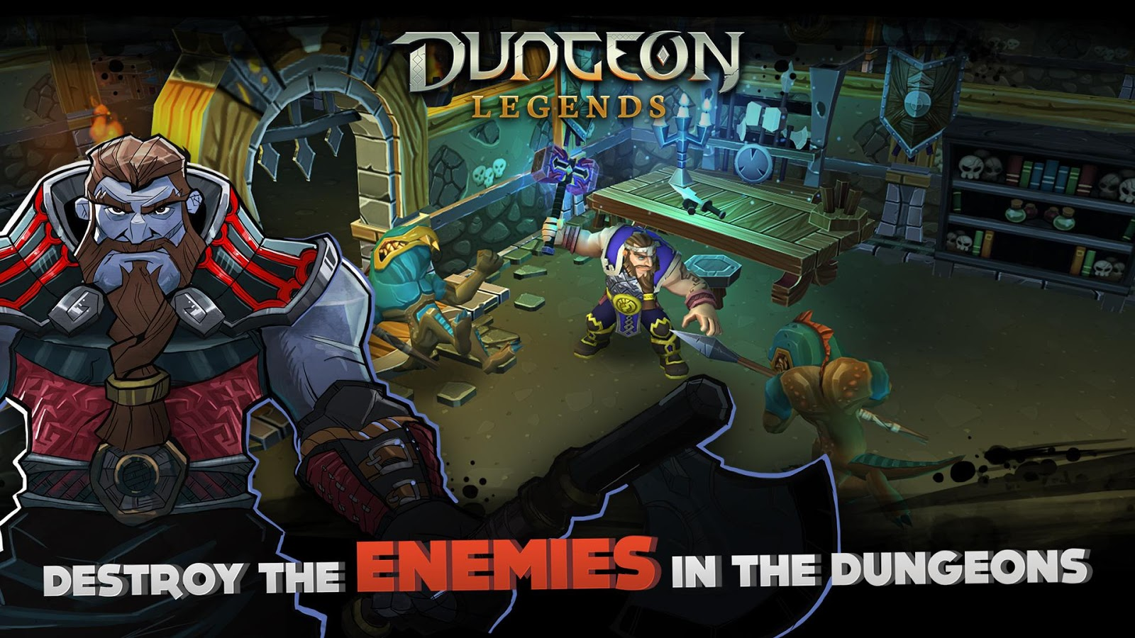 Dungeon Legends: Skeleton King Screenshot 14