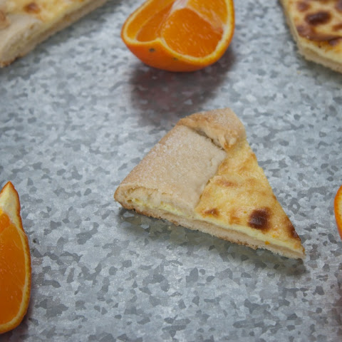 Orange Cream Cheese Tart