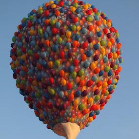 Ballonvaart, Festival Barneveld by Anja Kroes - Transportation Other ( wedstrijd, barneveld., ballonvaart, festival )