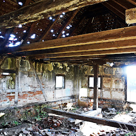 old house by Bojan Dobrovodski - Buildings & Architecture Decaying & Abandoned ( old house inside festung slavonski brod )