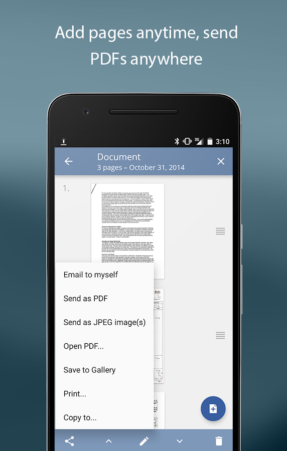 TurboScan: document scanner Screenshot 4