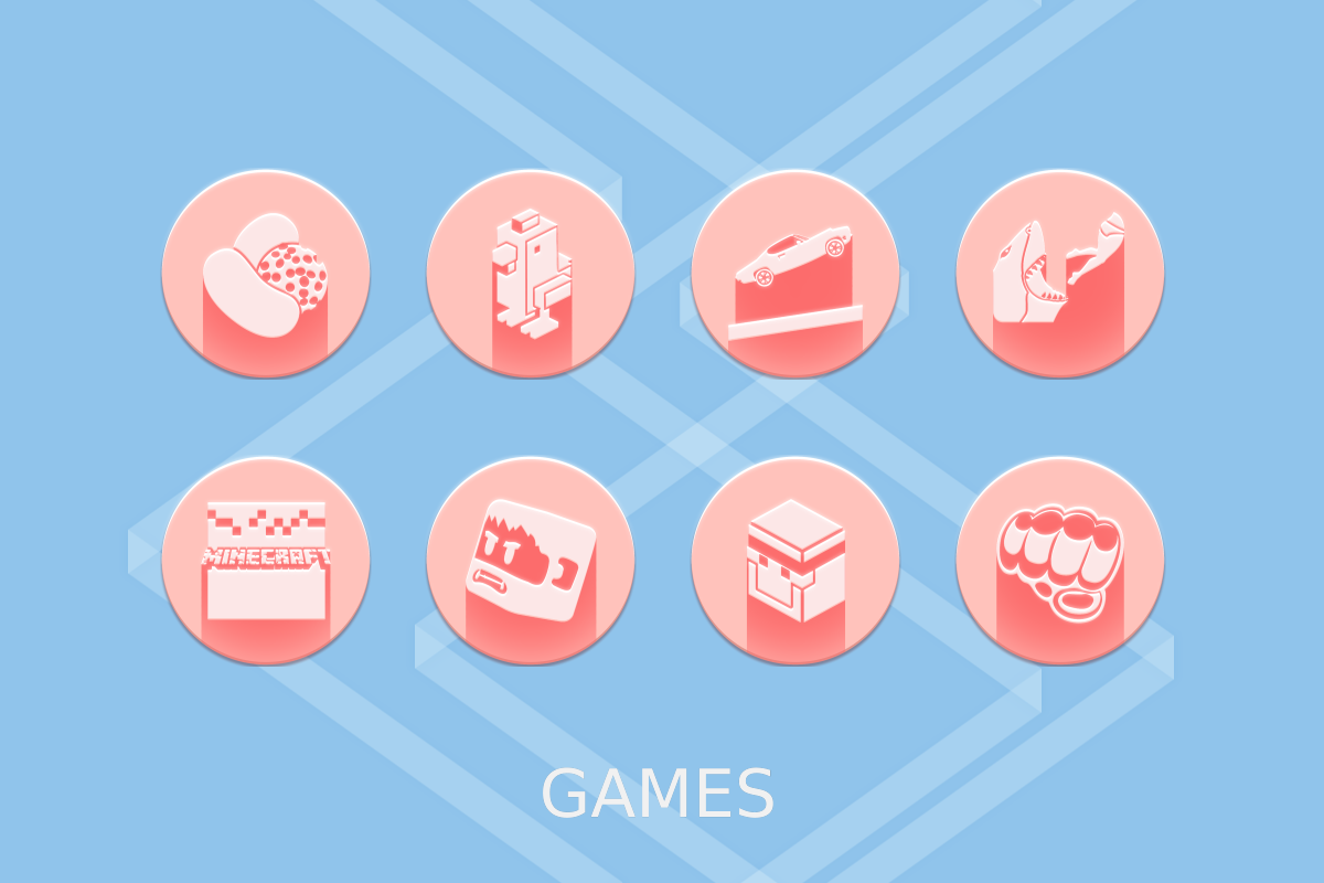 Pink Multilauncher Icon Pack Screenshot 15
