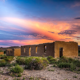 Fort Churchill, Nevada  by Lee Molof - Landscapes Cloud Formations