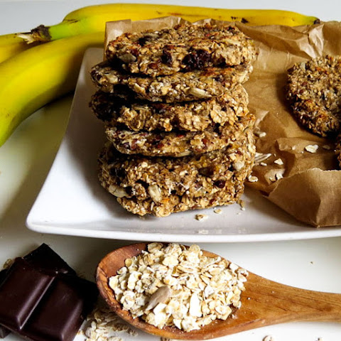 Super Easy Vegan Banana-Oatmeal Cookies
