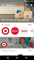 Screenshot of Google Express