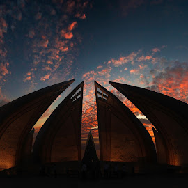 Beautiful Motherland by Ibrahim Saud - Buildings & Architecture Public & Historical ( sky, architecture, historical, beauty in nature, evening )