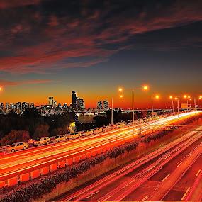 by Khoirul Huda - City,  Street & Park  Vistas