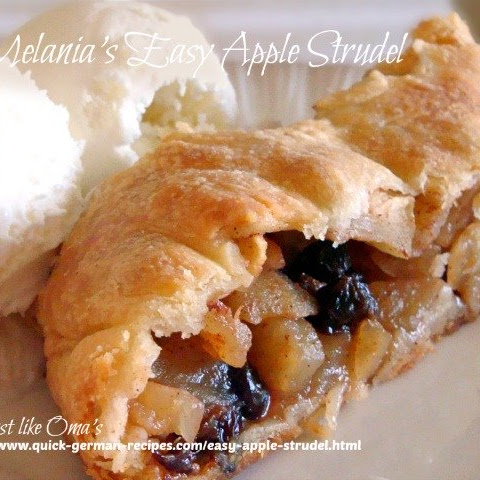 Melania's Easy Apple Strudel