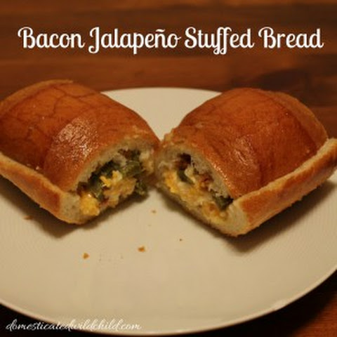 Bacon Jalapeno Stuffed Bread