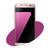 S7 Pink Launcher Theme for Lollipop - Android 5.0