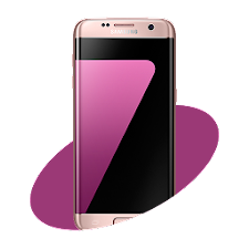 S7 Pink Launcher Theme