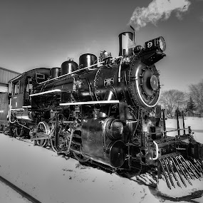 St Jacobs steam train by Chris Pepper - Transportation Trains ( steam train )
