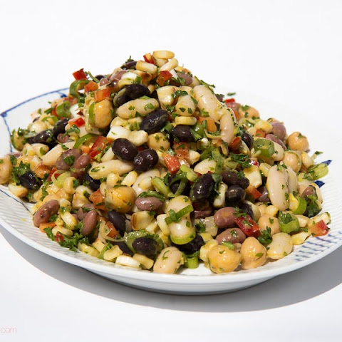 Bean and Roasted Corn Salad