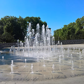 Foutain in Torun,Poland by Urszula Masilela - Instagram & Mobile iPhone ( music, fountain, copernicus, toruń, poland )
