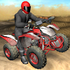 Quad Bike Race Desert Offroad