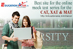 Best site for the online mock test series for the CAT, XAT & MAT
