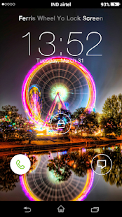 Ferris Wheel Yo Locker HD - screenshot