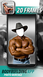 Bodybuilding App Photo Montage - screenshot