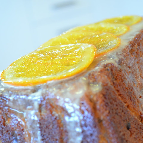 Orange, Ginger and Cardamom loaf cake
