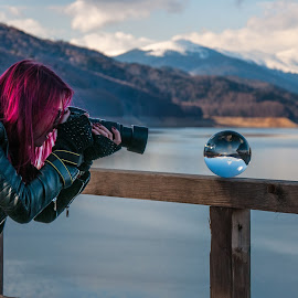 Work by Ionut Olaru - People Professional People ( crystal ball, magic ball, photographer, crystal, landscape, photography )