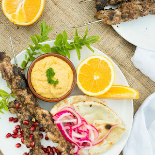 Chicken Shish Tawook Grilled Skewers