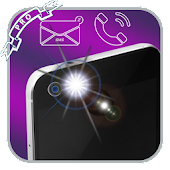 Download free flash alert on call && sms APK on PC