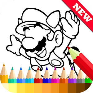 Coloring Book for Mario Fans