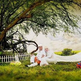 Prewedding by Rahayu Fipro - Wedding Bride & Groom