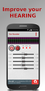 Ear Booster: Better hearing screenshot for Android