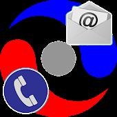 Export Contacts APK for Bluestacks